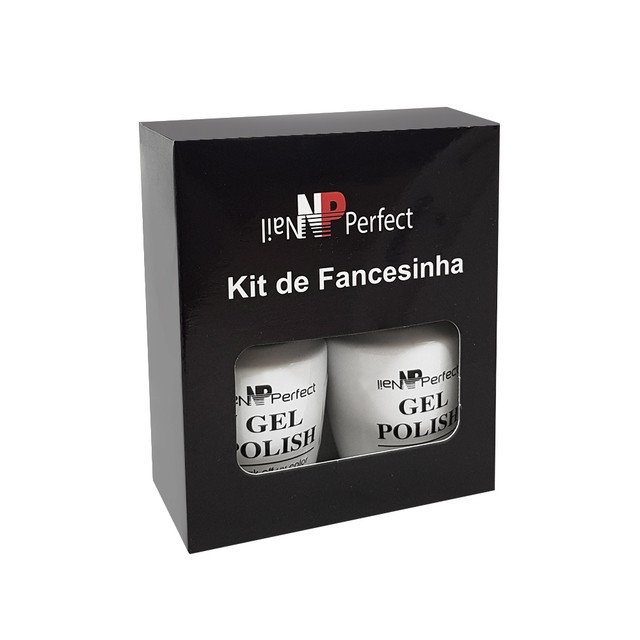 Kit Esmalte Em Gel Francesinha Nail Perfect