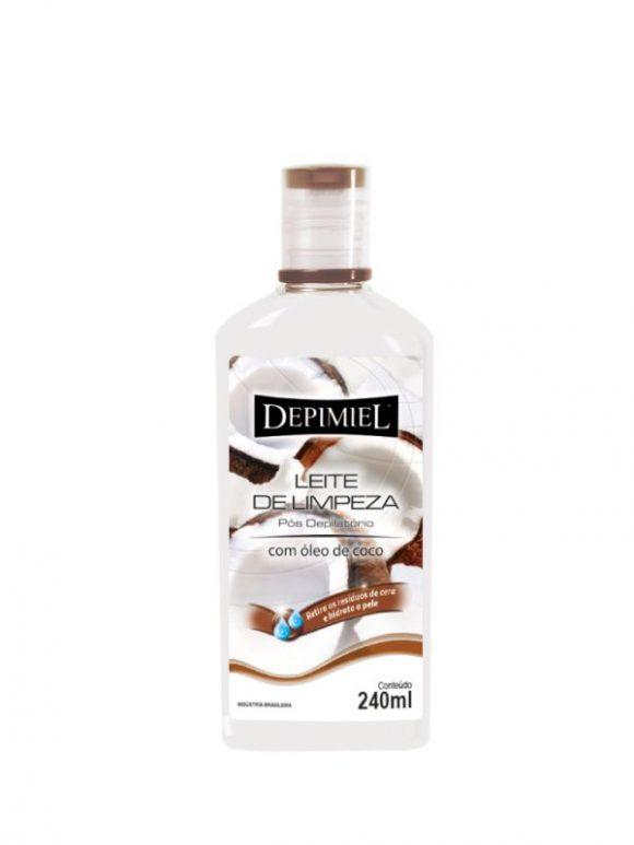 Leite de Limpeza Depimiel Pós-Depilatório - 240g
