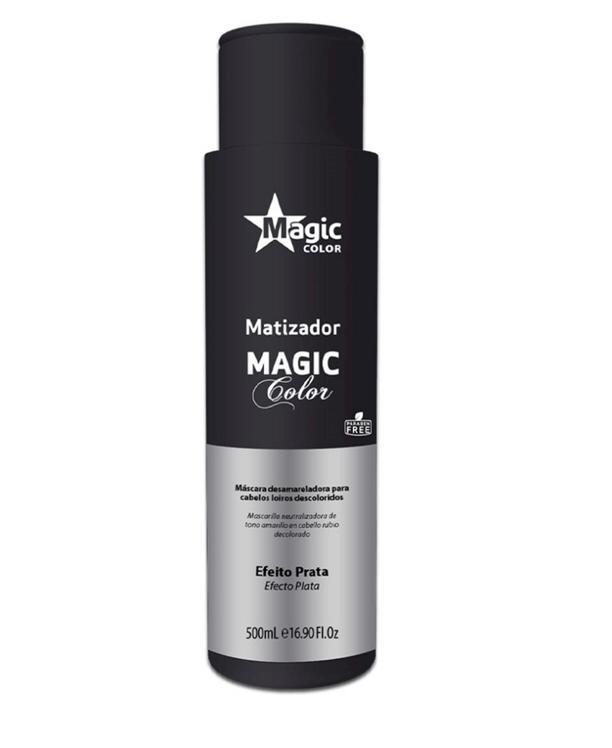 Matizador  Magic Color 3D Efeito - Prata 500ml