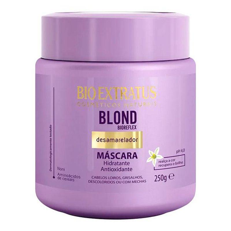 Máscara Bio Extratus Blond Bioreflex  Desamarelador  - 250g