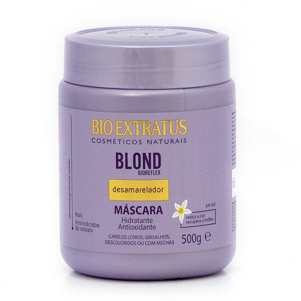 Máscara Bio Extratus Blond Bioreflex  Desamarelador  - 500g