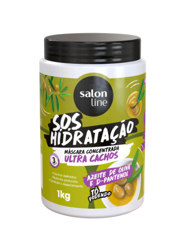 Máscara de Hidratação Salon Line S.O.S Ultra Cachos - 1kg