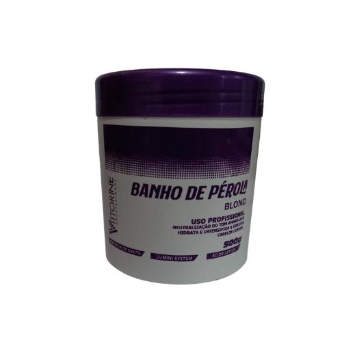 Máscara de Hidratação Vittorine Banho De Pérola  - 500g