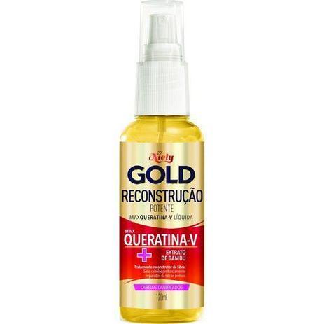 Max Queratina Niely Gold Reconstrução - 120ml