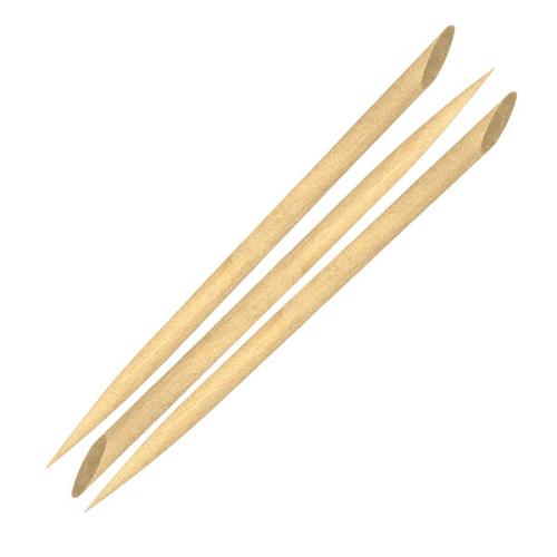 Palito Para Unhas Chanfrado Bambu Santa Clara - 50 Unidade