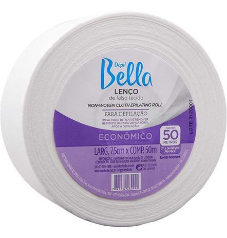 Papel Para Depilação Depil Bella Rolo - 50 Metros