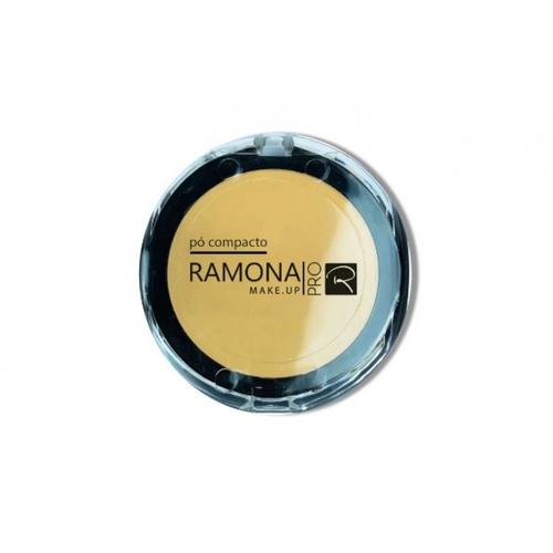 Pó Compacto Ramona Bege Claro - Cor:02