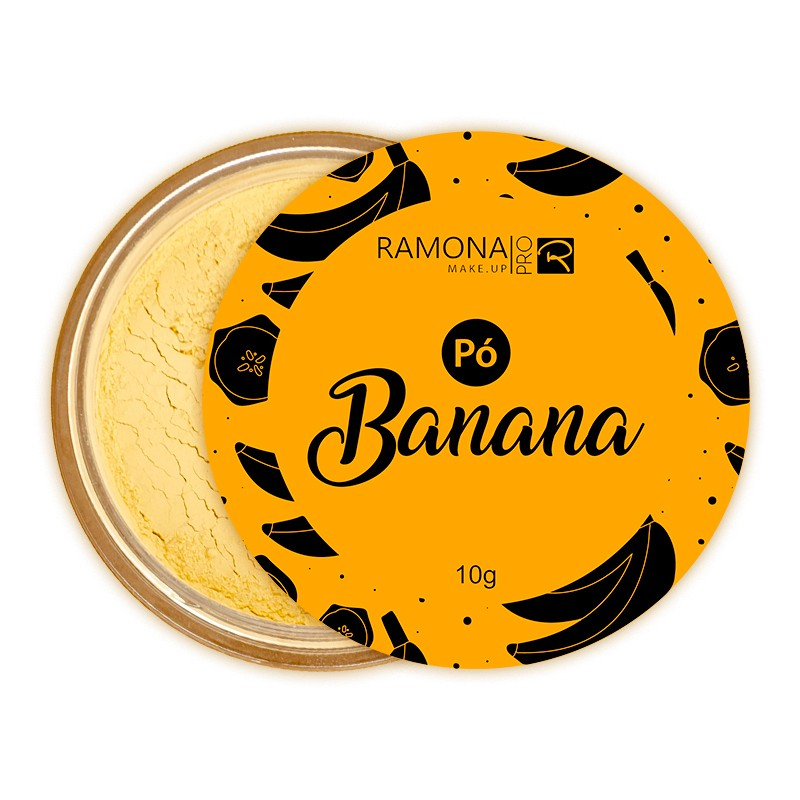 Pó Finalizador Ramona - Banana