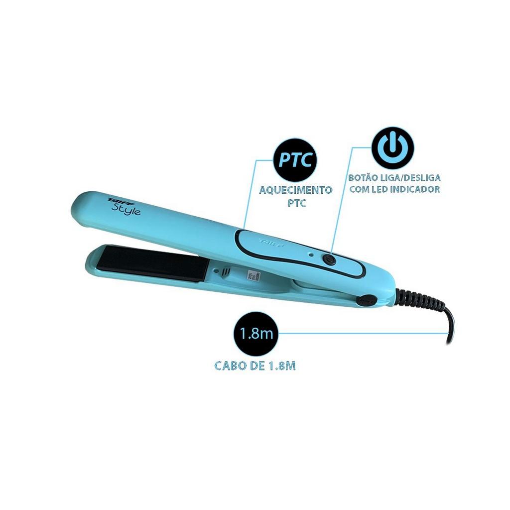 Prancha Taiff Style Azul - Bivolt
