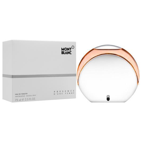 Presence D´Une Femme Mont Blanc Eau Toilette - Perfume Feminino 75ml