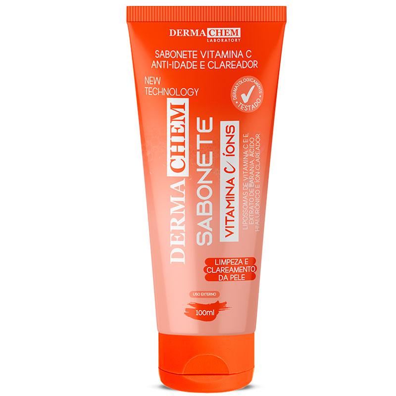 Sabonete Facial Dermachem Vitamina C Íons -100ml