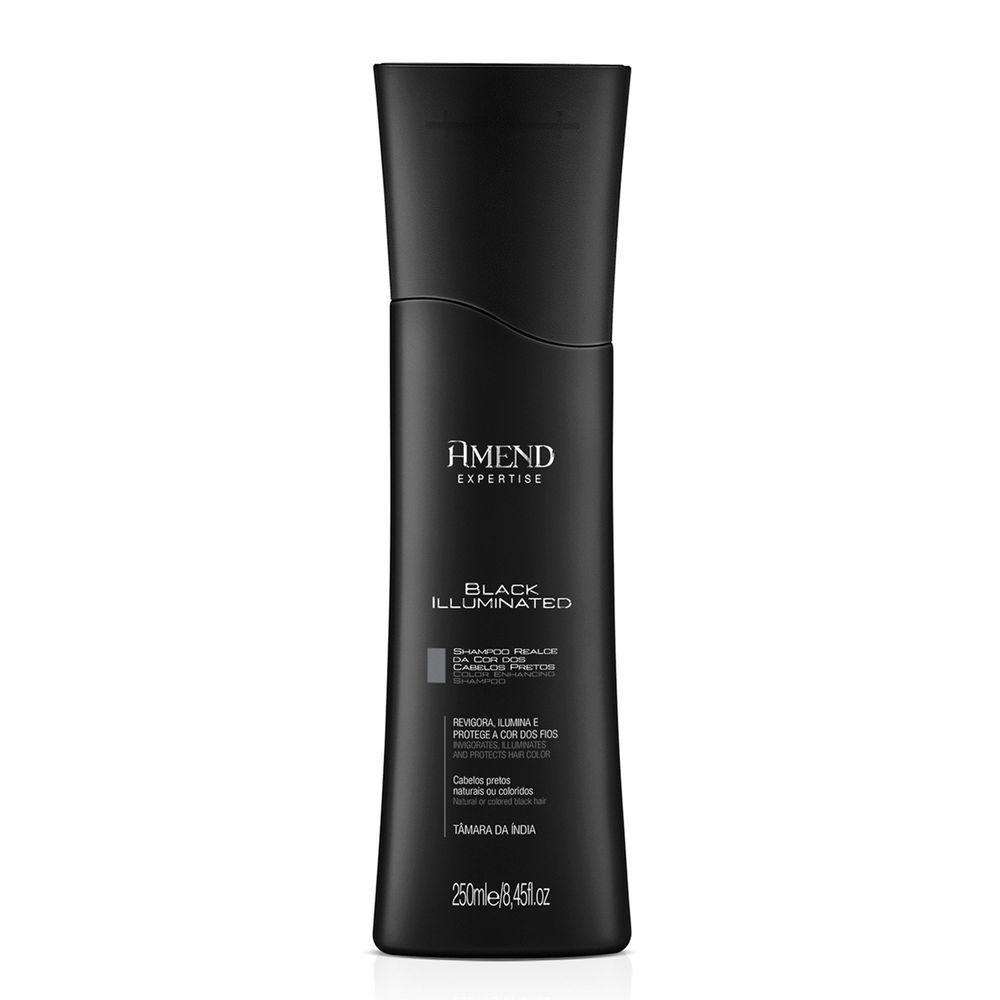 Shampoo Amend Realce Da Cor Black Illuminated - 250ml