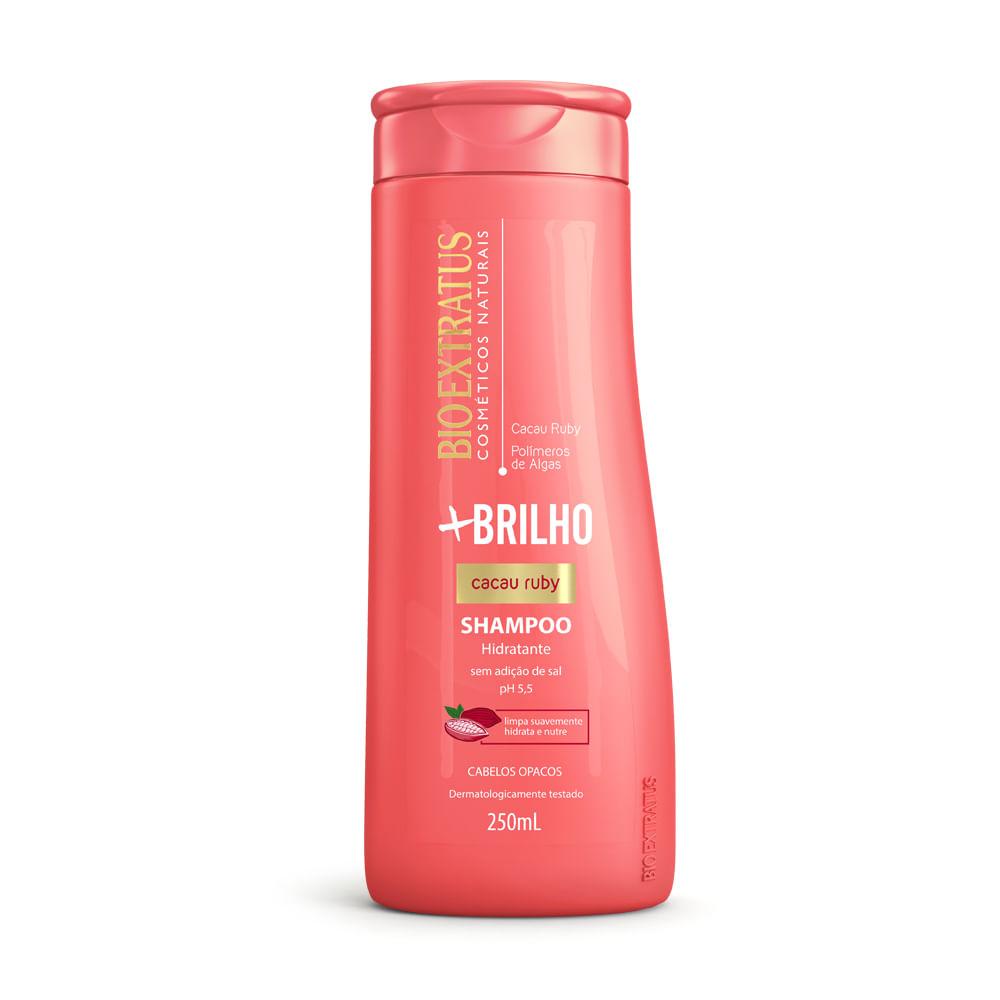 Shampoo Bio Extratus +Brilho Cacau Ruby  - 250ml