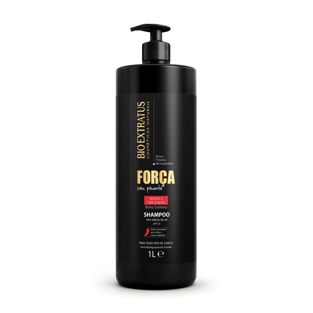 Shampoo Bio Extratus  Força com Pimenta   - 1L