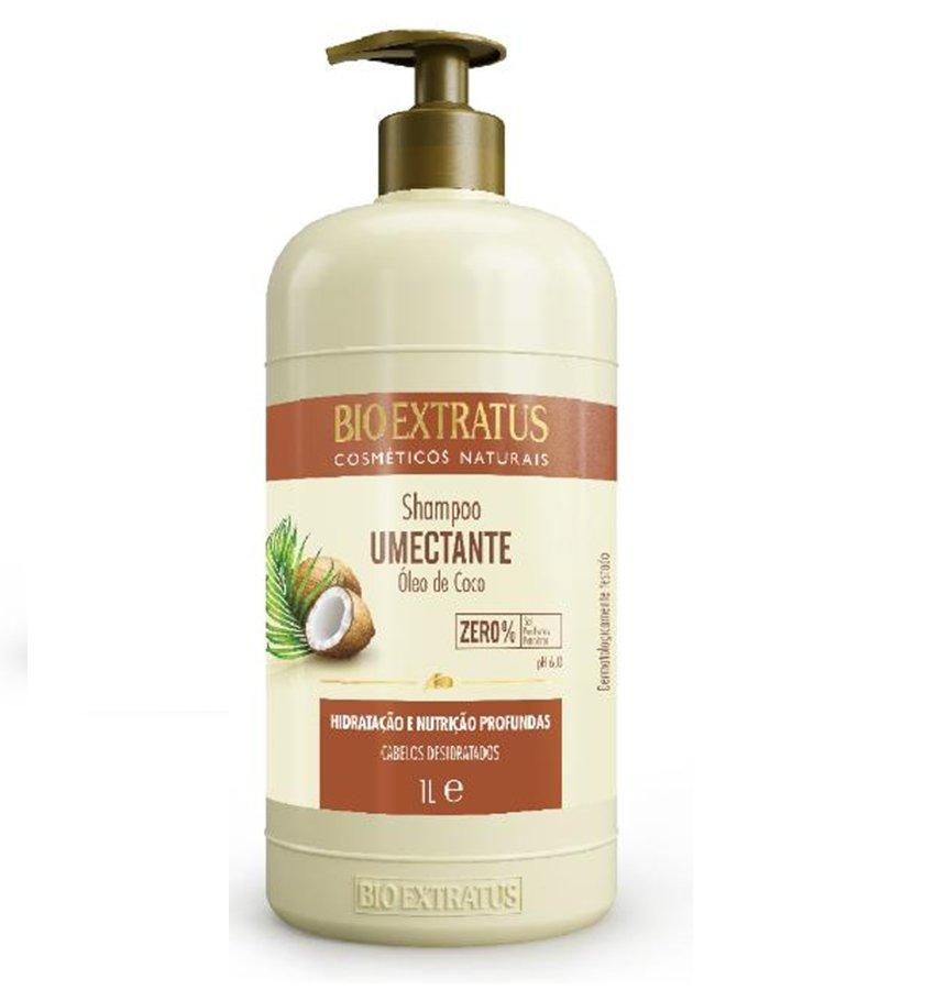 Shampoo Bio Extratus Umectante Óleo De Coco - 1L