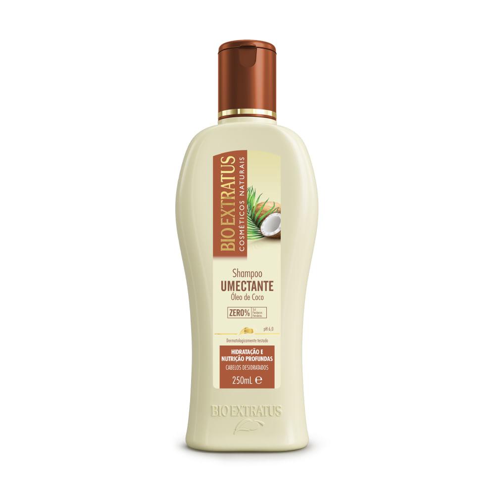 Shampoo Bio Extratus  Umectante Óleo de Coco - 250ml