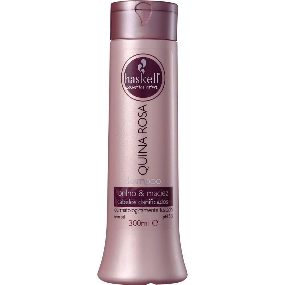 Shampoo Haskell Quina Rosa - 300ml