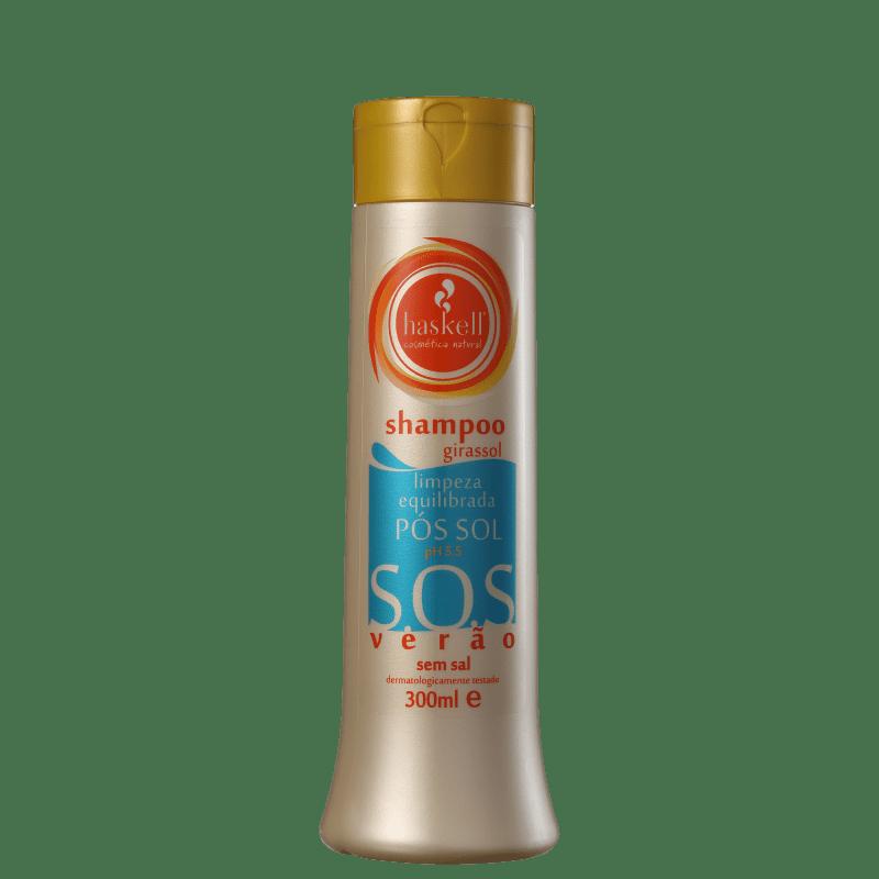 Shampoo Haskell S.O.S Verão Pós Sol - 300ml