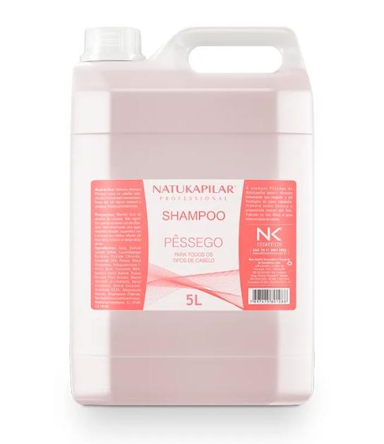 Shampoo Pêssego  Natukapilar -  5L