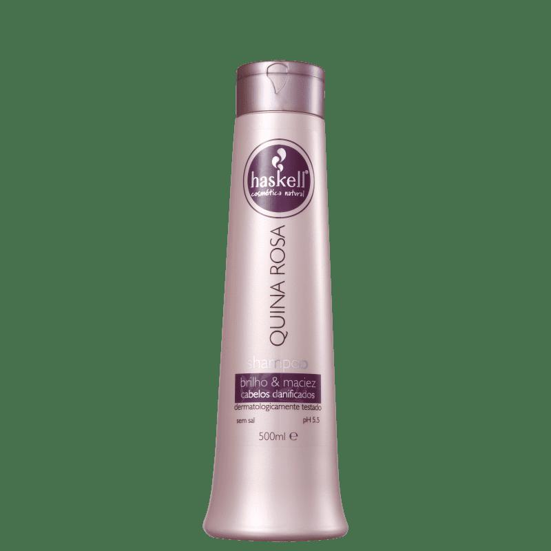 Shampoo Haskell Quina Rosa - 500ml