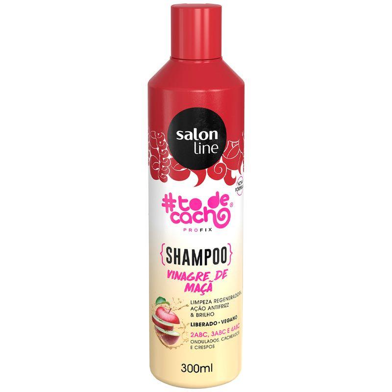 Shampoo Salon Line #todecachos Vinagre de Maçã- 300ml