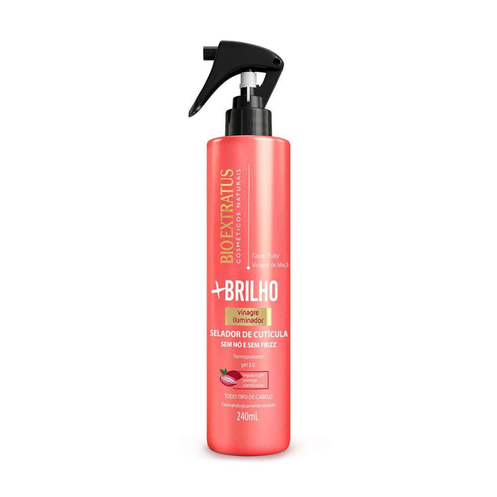 Spray Selador De Cutícula Bio Extratus +Brilho Vinagre Iluminador - 240ml