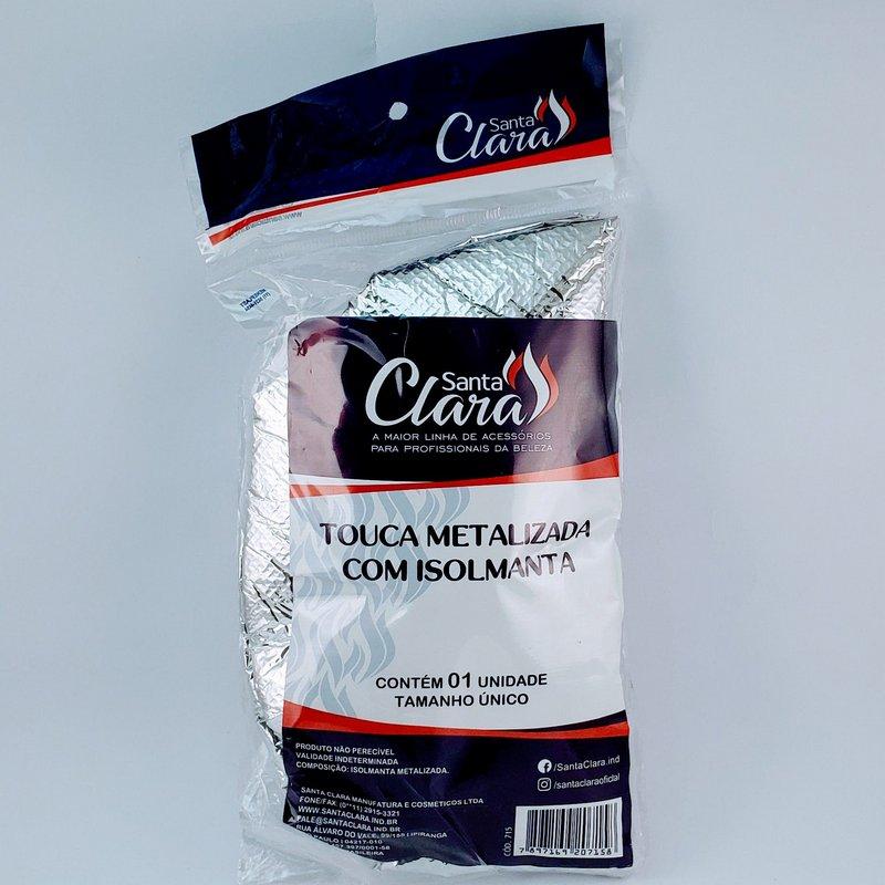 Touca Metalizada Santa Clara Com Isolmanta - Cod:715