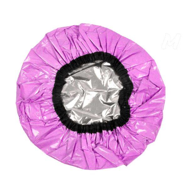 Touca Santa Clara Metalizada Pink - Cod: 3666