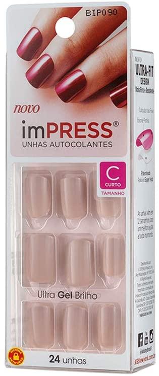 Unhas Autocolantes ImPress - Curto 090