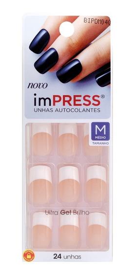Unhas Autocolantes ImPress - Média 040