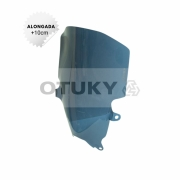 Bolha para Moto Bandit 1200 S 2001 2002 2003 2004 2005 2006 Alongada +10cm Otuky
