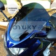 Bolha para Moto Bandit 1200 S 2007 2009 2010 2011 2012 Alongada +10cm Otuky