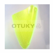 Bolha para Moto Srad 750 GSX-R 2010 2011 2012 2013 Otuky Padrão Verde Fosforescente