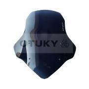 Bolha para Moto Ténéré 250 Xtz 2011 2012 2013 2014 2015 2016 2017 2018 Otuky Padrão Fumê Escuro