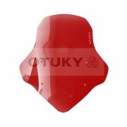 Bolha para Moto Ténéré 250 Xtz 2011 2012 2013 2014 2015 2016 2017 2018 Otuky Padrão Vermelho