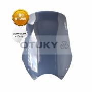 Bolha para Moto Transalp XL 700 V Otuky Alongada Fume Escuro