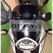 Bolha para Moto Transalp XL 700 V Otuky Padrão Fumê Cinza-Claro