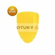 Bolha para Moto V-Strom DL 650 1000 2004 2013 Otuky Alongada Amarelo
