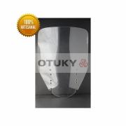 Bolha para Moto V-Strom DL 650 1000 2004 2013 Otuky Alongada Cristal