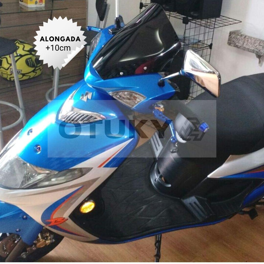 Bolha para Moto Burgman 125 AN 2006 2007 2008 2009 2010 Alongada