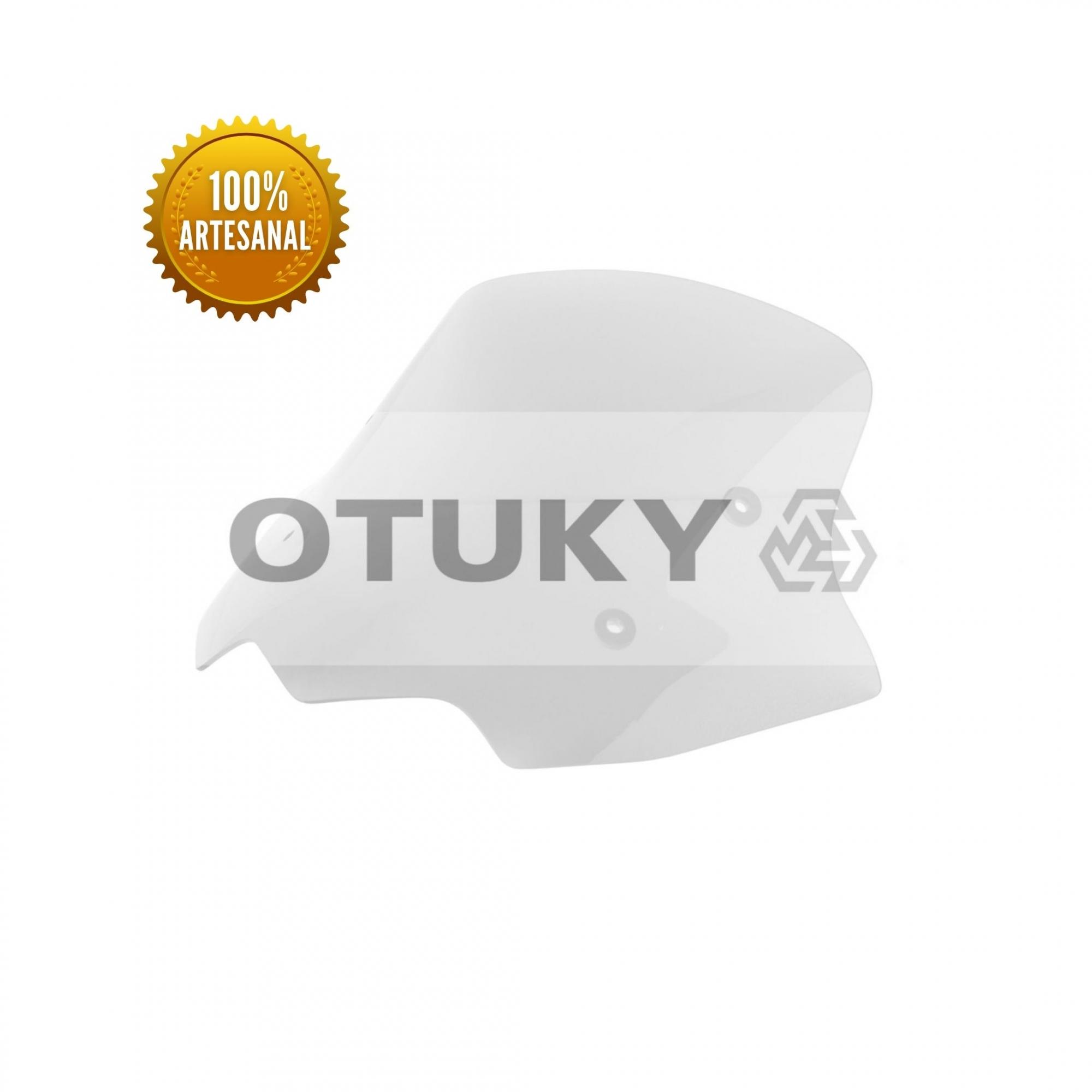 Bolha para Moto CB 500 X 2014 2015 2016 2017 Otuky Padrão Cristal