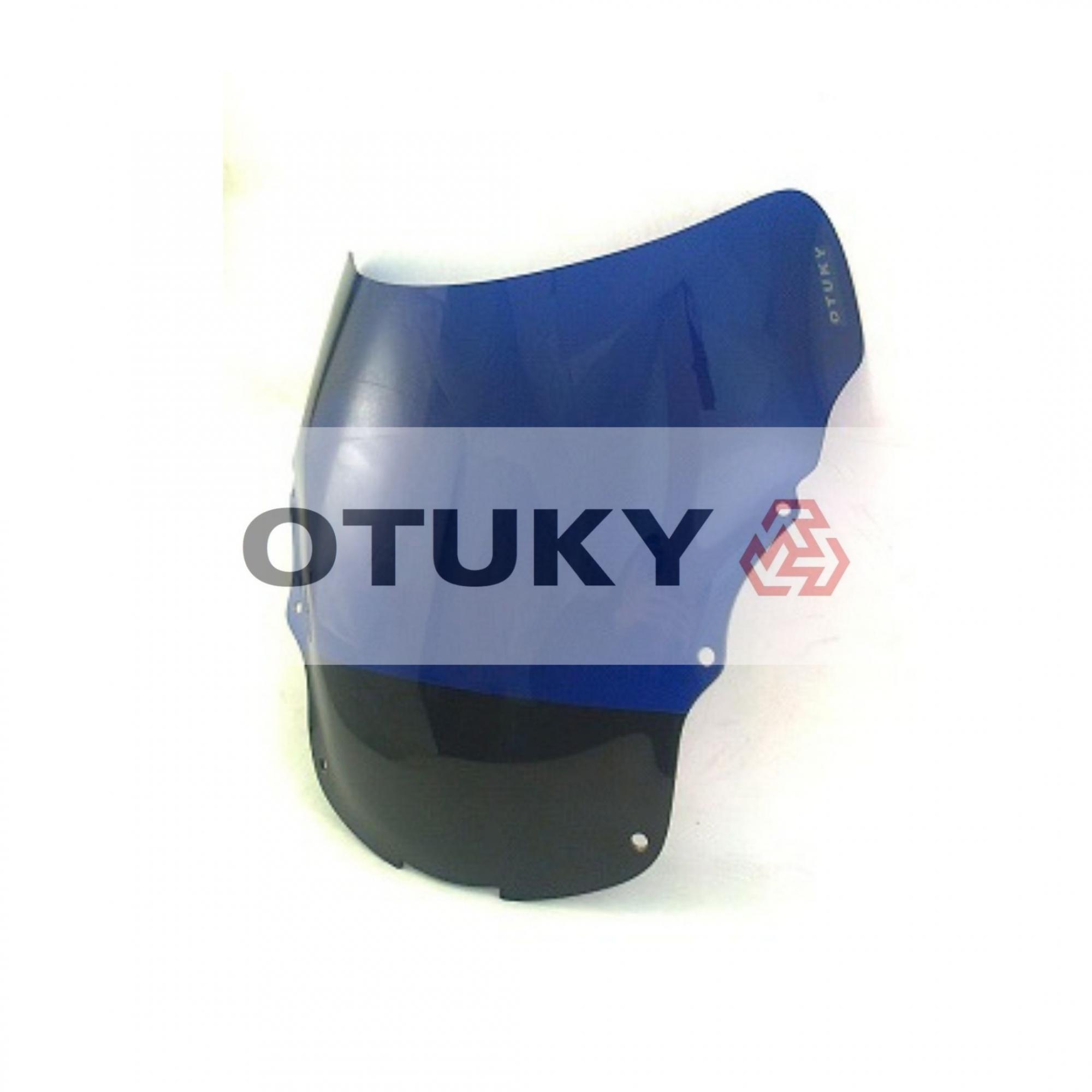 Bolha para Moto CBR 1100 Xx Blackbird 1997 1998 1999 2000 2001 2002 2003 2004 2005 Otuky Padrão Azul Escuro