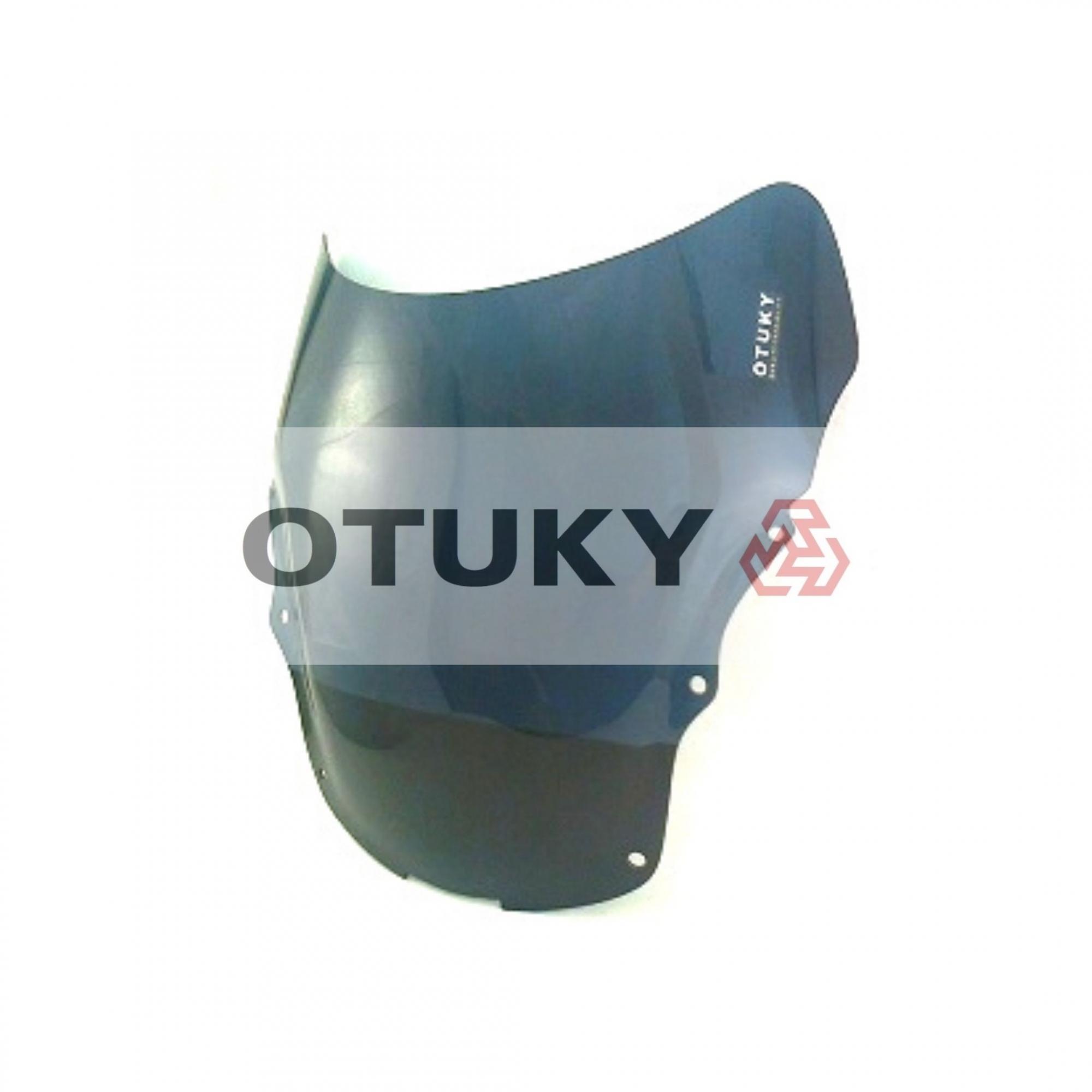 Bolha para Moto CBR 1100 xX Blackbird 1997 1998 1999 2000 2001 2002 2003 2004 2005 Otuky Padrão Fumê Escuro