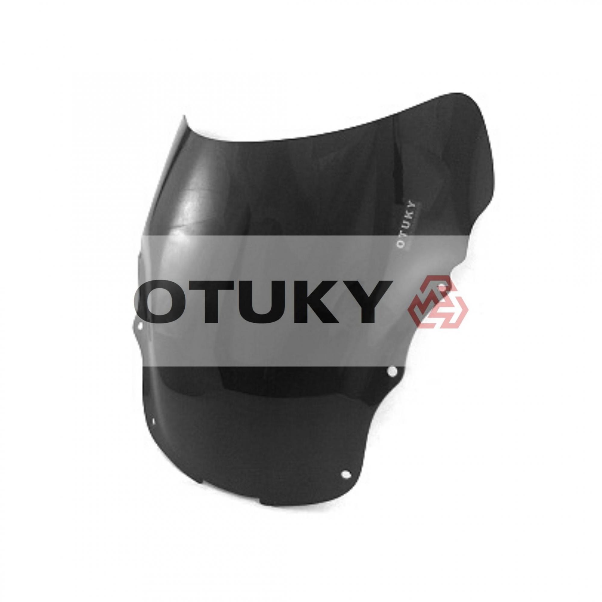 Bolha para Moto CBR 1100 Xx Blackbird 1997 1998 1999 2000 2001 2002 2003 2004 2005 Otuky Padrão Preto