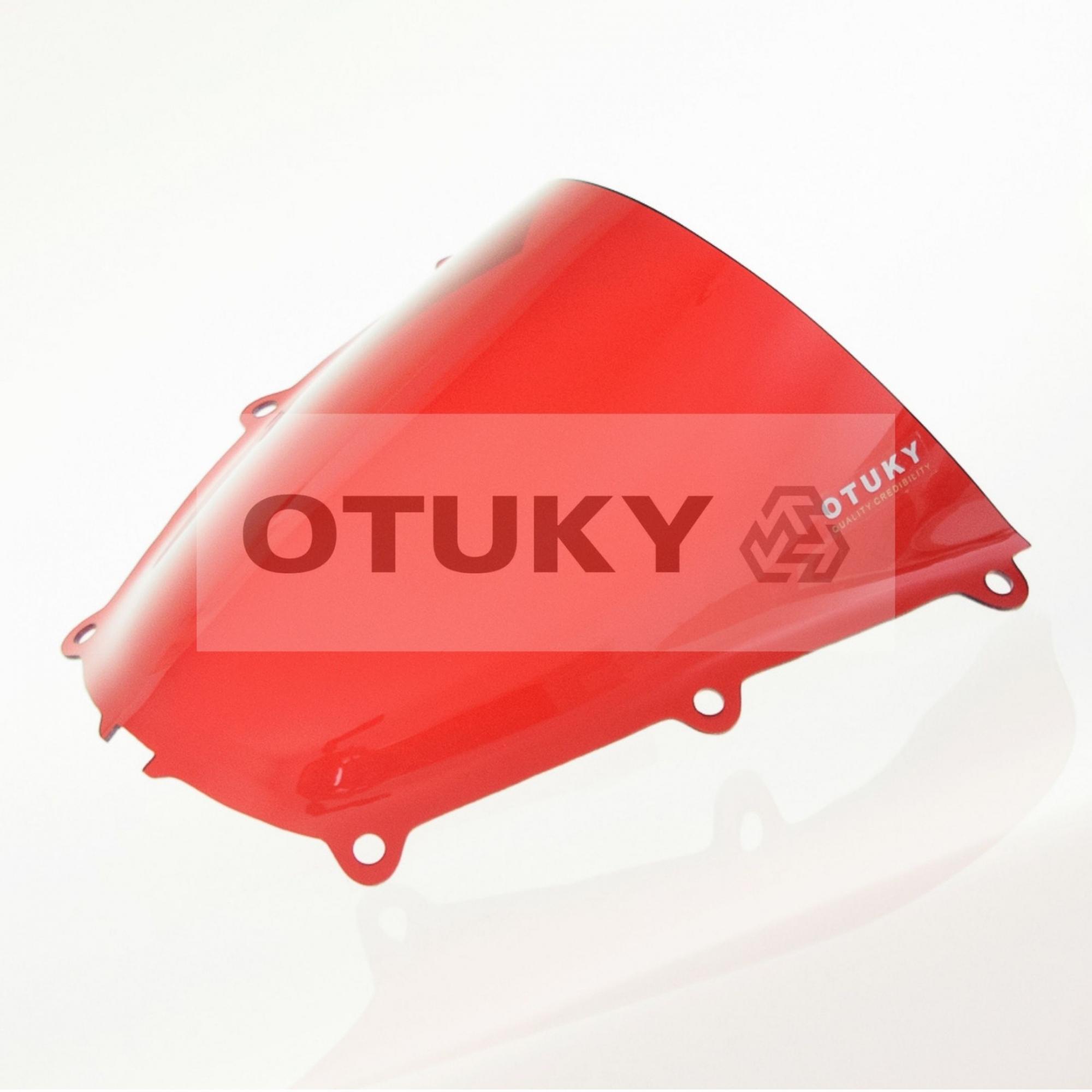 Bolha para Moto CBR 600 RR 2005 2006 Otuky Padrão Vermelho