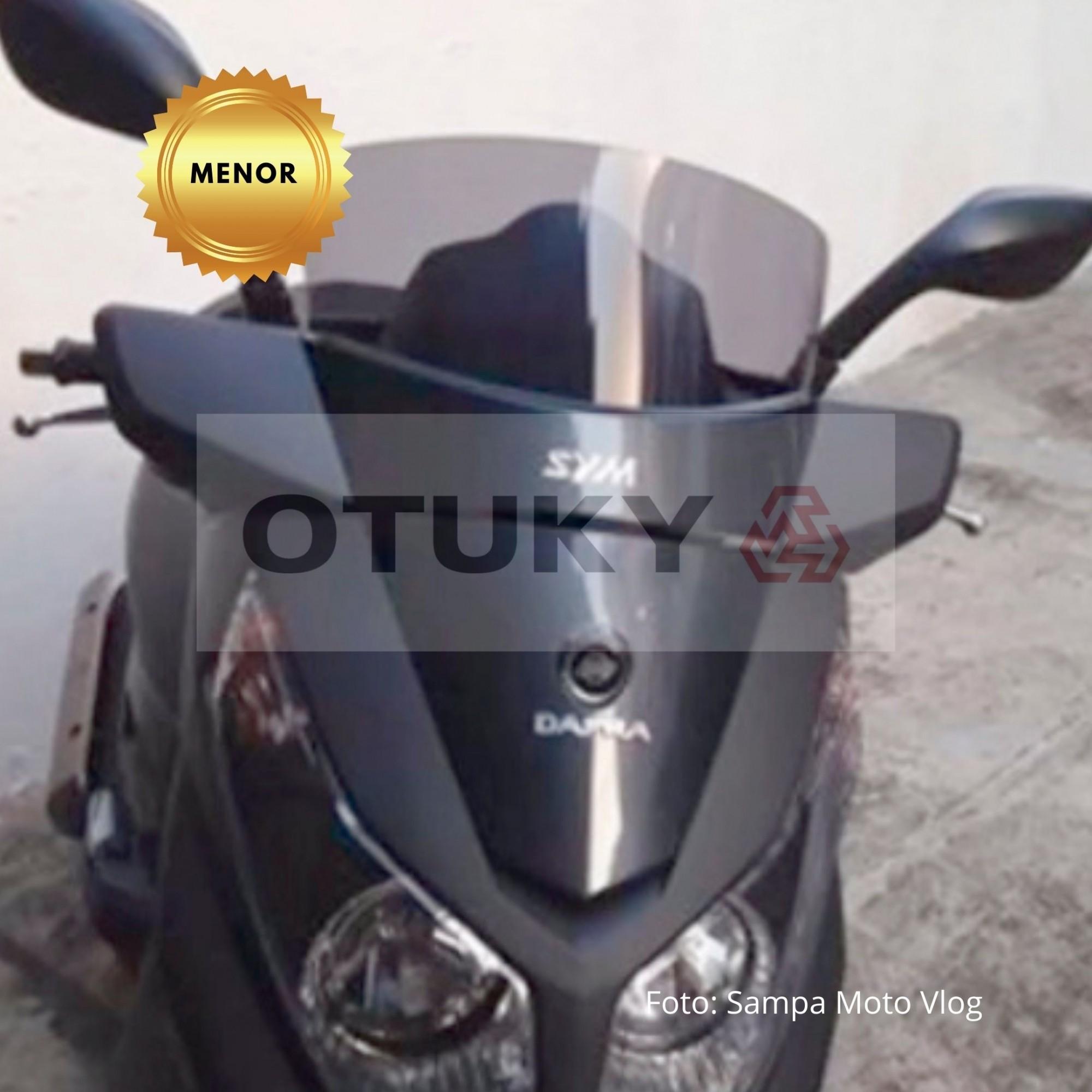 Bolha para Moto Citycom 300i Até 2017 Menor