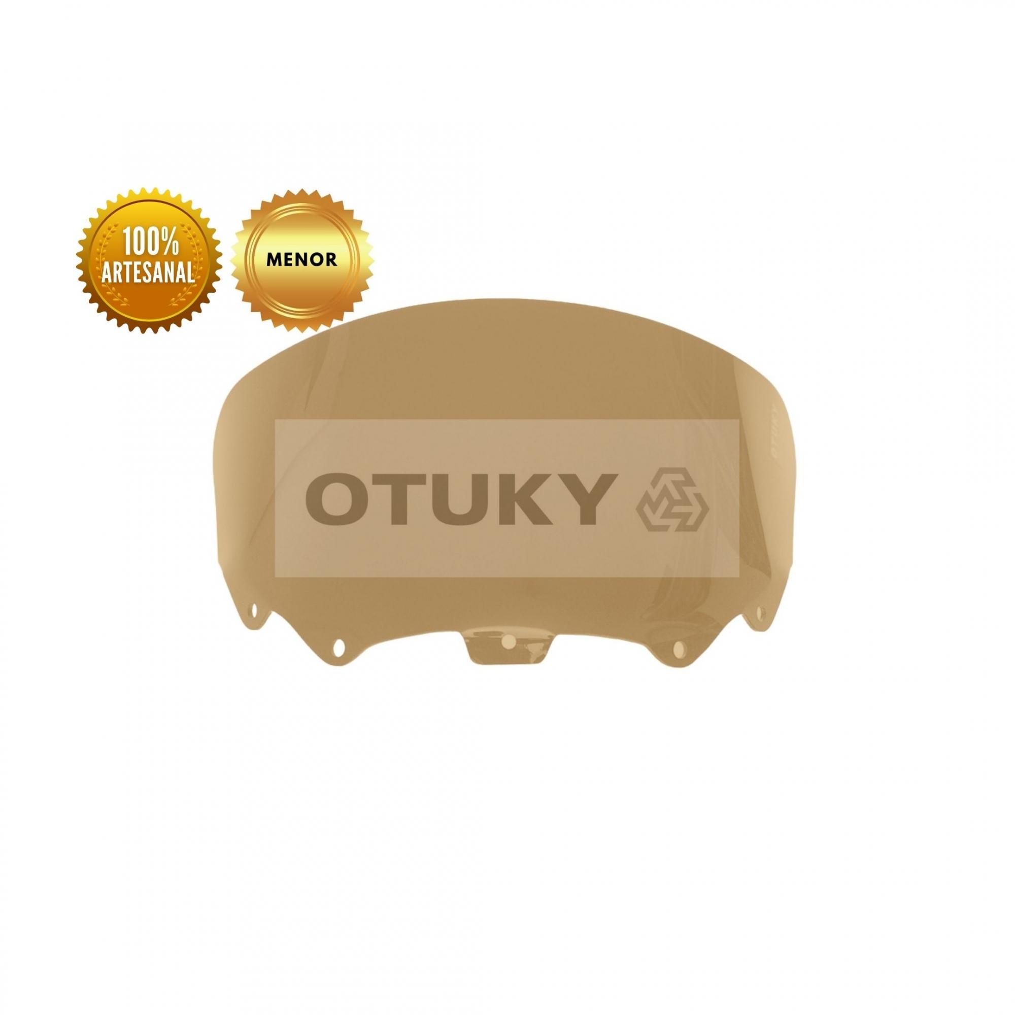 Bolha para Moto Citycom 300i Otuky Menor Fumê Marrom