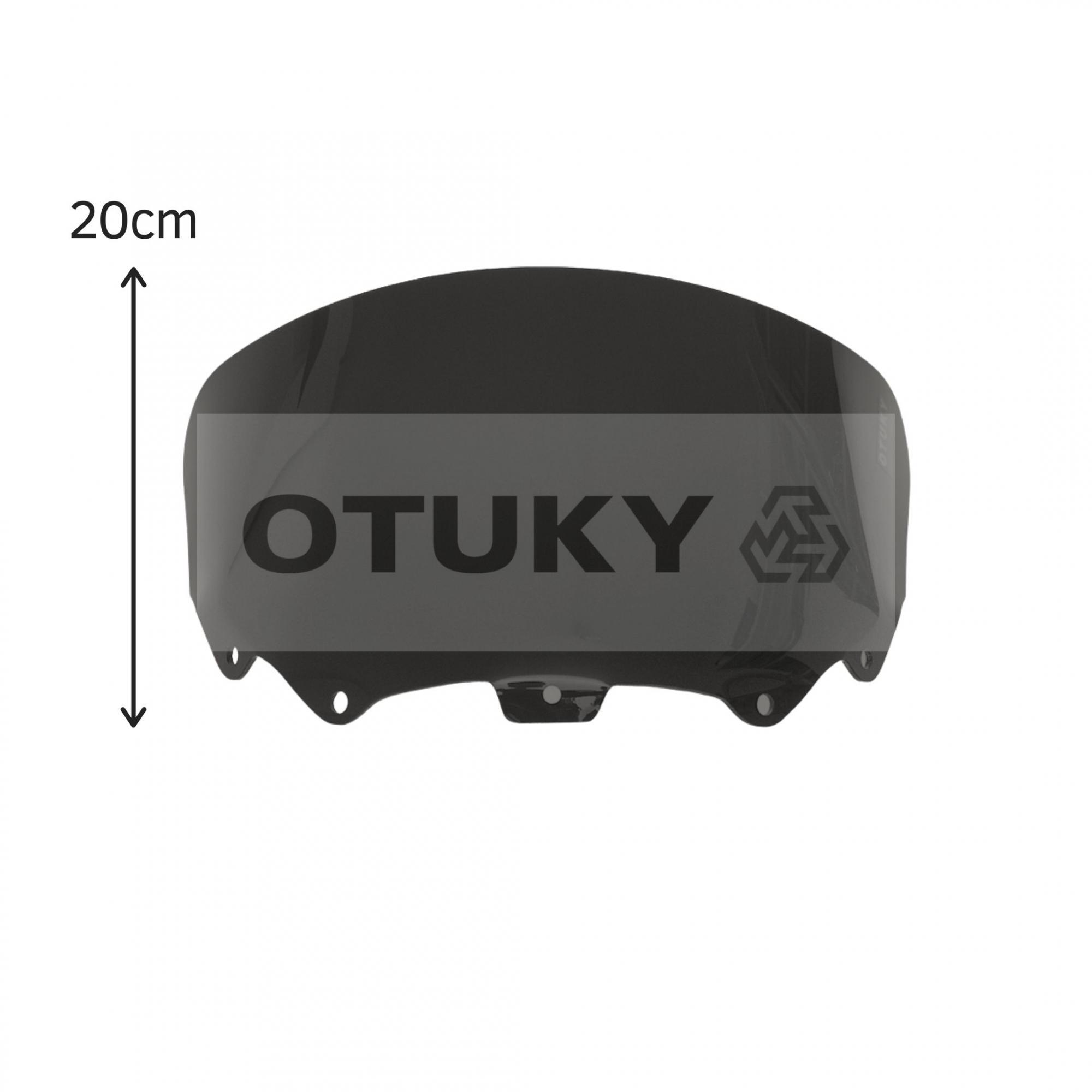 Bolha para Moto Citycom 300i Otuky Menor Preto