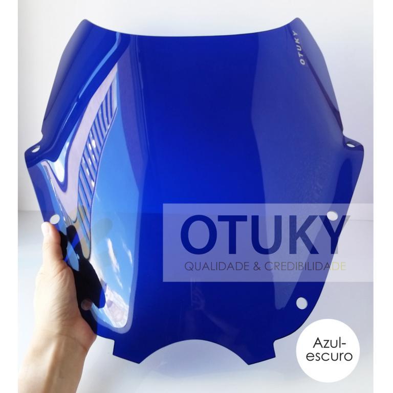 Bolha para Moto Comet 250 Gtr Otuky Azul