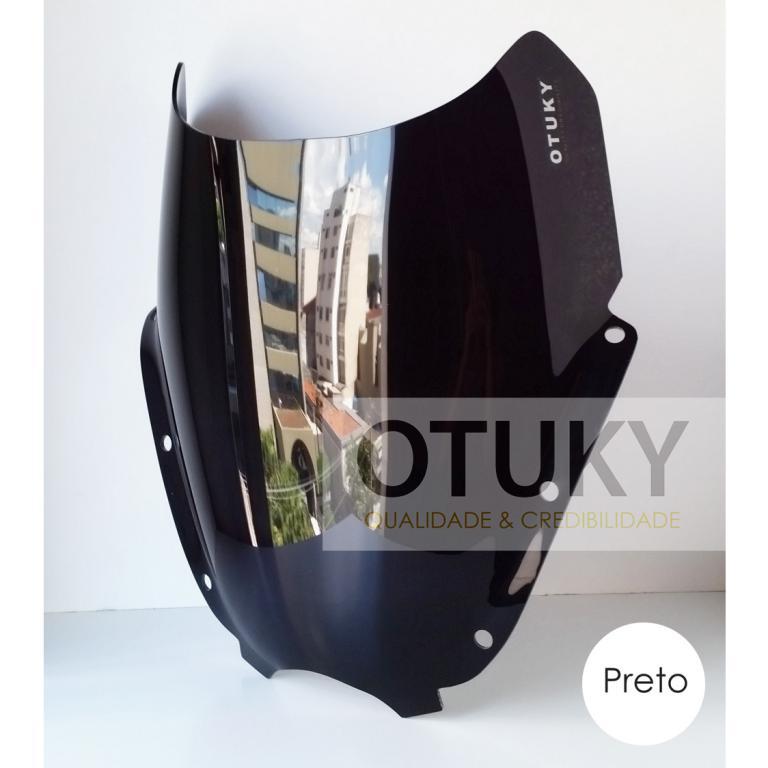 Bolha para Moto Comet 250 Gtr Otuky Padrão Preta